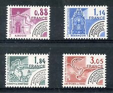 STAMP / TIMBRE FRANCE NEUF PREOBLITERE SERIE N° 170/173 ** MONUMENTS HISTORIQUES