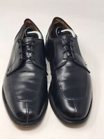 ALLEN EDMONDS Hancock Black Men's Sz 11.5 D Split-Toe Derby Dress USA Made Shoe