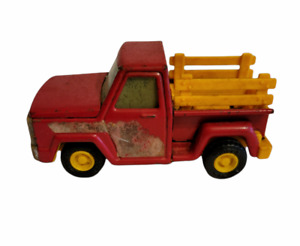 Vintage Buddy L Pickup Stake Truck Red