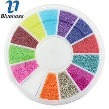 1 Wheel Mix Multi-Color Caviar 3D Nail Art Metal Charm Manicure ZP224