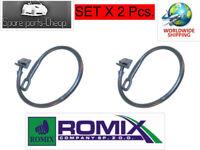 2 Stück Halteband Haltebänder Haltegummi Hutablage Heckablage VW Golf 2 3 Polo