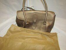 ASHNEIL Leather Copper Color Handbag with Dust Cover