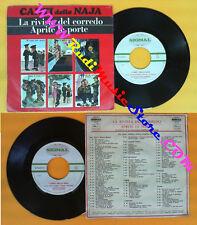 LP 45 7'' FRED BURBA GIANNI TRAVERSI I canti della naja La rivista no cd mc(QI1)