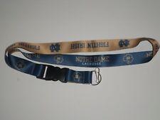 NCAA Brand New Lanyard Keychain Notre Dame Fighting Irish ID Holder