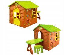 XXL Spielhaus mit Tisch und Stuhl  Kinderspielhaus Gartenspielhaus  Garten Haus