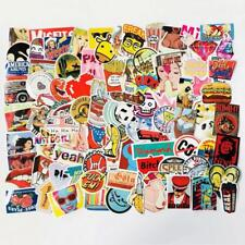 100 200 300 Pc Lot Skateboard Stickers Bomb Vinyl Laptop Luggage Decals Sticker