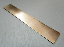 "Pure Copper Jewelry Plating Anode For Electro Plater Rectifier Machine 1"" x 6"""