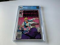 CHUCK NORRIS 2 CGC 9.6 WHITE PAGES NEWSSTAND EDITION KARATE MARVEL COMICS