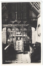Mundford Church, Norfolk - H. Coates & Sons Real Photograph - Posted