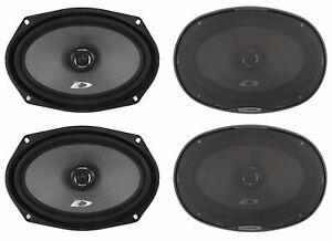 """(4) Alpine SXE-6926S 6x9"""" 280 Watt 2-Way Car Audio Coaxial Speakers"""