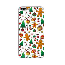 Case For iPhone 5S 5C 6 6S 7 Plus Soft TPU Silicone Phone Back Cover X'mas Gifts