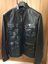 Polo Ralph Lauren Southbury Leather Biker Jacket  L Worn Once For 3 Hours