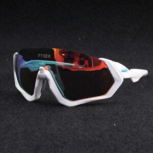 Polarized Cycling Glasses Eyewear Bike Goggles Fishing Sunglasses UV400 3 Lens