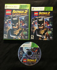 LEGO Batman 2 DC Super Heroes — Complete! Fast Shipping! (Xbox 360, 2012)