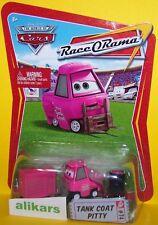 TANK COAT - PITTY Giocattolo Mattel Cars 1:55 Disney Modellini Metallo Diecast