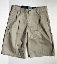 New Boys Chaps Khaki Uniform shorts size 12 regular