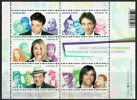 Canada Great Canadian Comedians Souvenir Sheet MNH