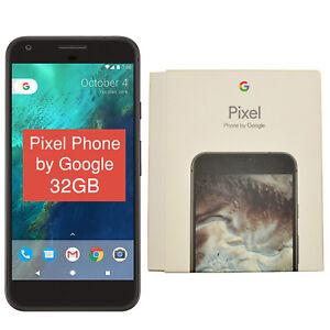 "BNIB 5"" Google Pixel 2016 Phone G-2PW4200 32GB Black Factory Unlocked 4G/LTE OEM"