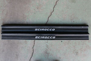 OEM Factory VW Scirocco Mk1 Door Scuff Sill Cover Panel Step Protector 2PCS
