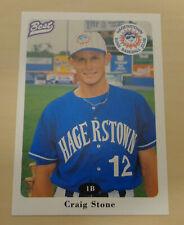 1996 Best CRAIG STONE #21 - Sydney Blue Sox - Aussie Baseball - Hagerstown Suns