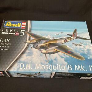 Revell 03923 D.H.Mosquito B Mk. IV Kit 1:48 New Original Packaging~ Level 5.