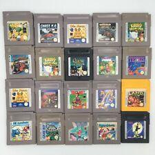 Juegos para Nintendo Gameboy Classic | también para GB color & GBA | impecable