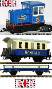 PIKO G SCALE 45mm GAUGE RC BATTERY LOCO TRUCK COACH TRAIN RADIO REMOTE CONTROL