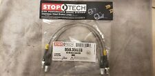 Brake Hydraulic Hose-RWD Front Stoptech 950.35003 for Mercedes Benz