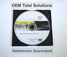 Update 2008 for 2006-12 AUDI A3 RNS-E Navigation DVD disc map 8P0919884Q USA Can