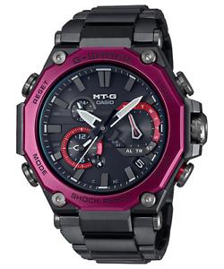Casio G-Shock MT-G Black IP Tough Solar Radio Bluetooth Watch - MTG-B2000BD-1A4