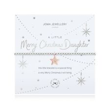 Joma Jewellery A Little 'MERRY CHRISTMAS DAUGHTER' - Bracelet with gift bag