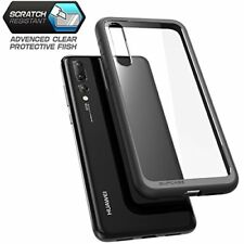 17417f8f2 Huawei P20 Pro Case Hybrid Clear TPU Bumper PC Shockproof Protective Cover