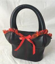 Fabretti Small Black Handbag / Purse