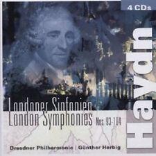 GÜNTHER/DP HERBIG - LONDONER SINFONIEN 93-104 4 CD NEU