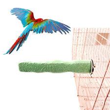BE_ BL_ Bird Pet Parrot Claw Grinding Stick Flat Stand Platform Perch Cage Decor