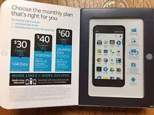 New AT&T Alcatel IdealXCITE Prime Black 7.0 Android Smartphone Prepaid Unlimited