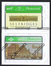 BT Selfridges 20units mint sealed BTA 022 1991 35,000 ptd. Harrods 1995 BTA 087.