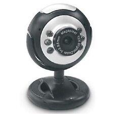 Blupont Webcam 1100  C/Micrófono - 2 mega pixels- 6 Leds - tamaño mini
