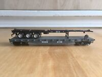 Ho Scale DODX 5138 DOD 5678 Flat Car Unknown Train Boxcar Tender