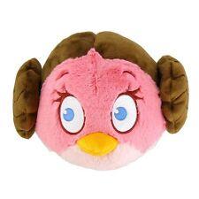 "ANGRY BIRDS STAR WARS 8"" SOFT PLUSH - PRINCESS LEIA - BRAND NEW"