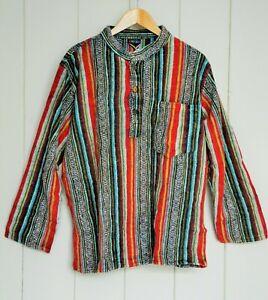 FAIR TRADE - Gringo Gheri brushed cotton shirt (medium)