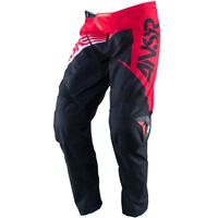 Ansr Answer MX Motocross Enduro Dirt Bike Quad Pants Red/Black/White