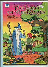 1979 Lord Of The Rings Coloring Book Uncolored Whitman Pub (7.5) HTF