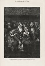 OLD 1876 PRINT MY FIRST PANTOMIME WHEN GRANDFATHER TOOK US TO SADLERS WELLS b25