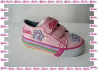 Superbes Chaussures Baskets Roses Fantaisies Barbie Pointure 24