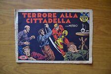 FUMETTO ALBO GIGANTE VICTORY N. 14 20 12 1947 con MISTERO COMPLETO LIRE 35