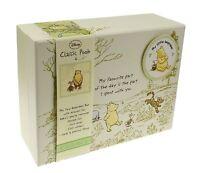 Disney Winnie The Pooh Classic Pooh Baby Memory Keepsake Box New Baby Gift *