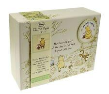 Disney Winnie the Pooh Classic Pooh Bébé Memory Keepsake Box New Baby POISON *