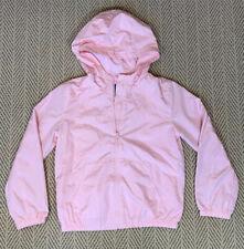 Gap Kids Girls Pink Lightweight Hooded Windbreaker Sz L Lnwot Amazing Condition