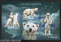 TOGO 2015 POLAR BEARS  SHEET MINT NH